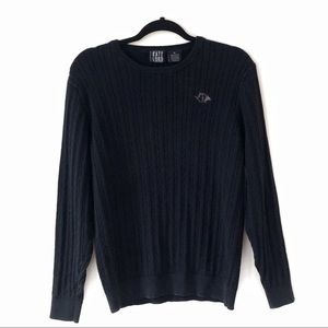 Kate Lord Cashmere Blend Cable Knit Upton Sweater